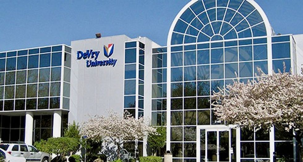 DeVry University agrees to $100 million settlement with US FTC