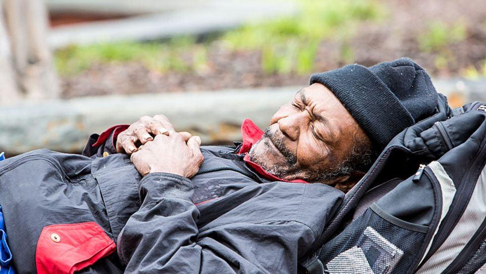 More than 500,000 people are homeless in the United States -- a quarter of them are children