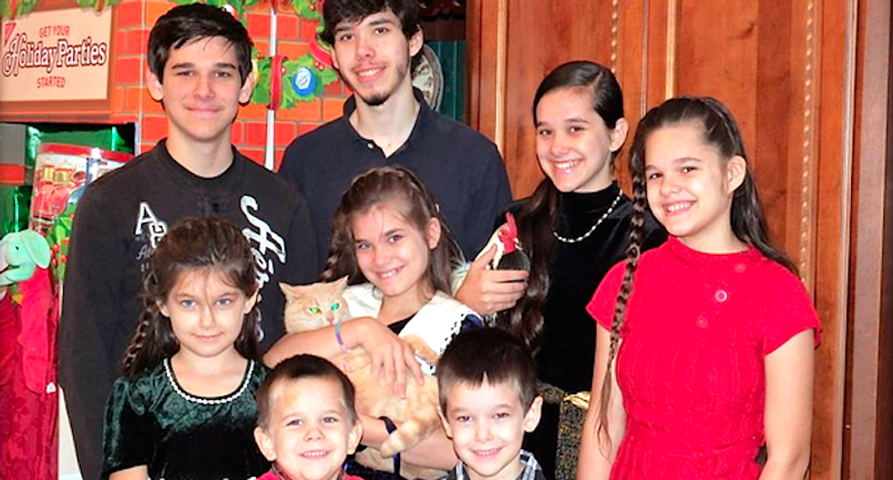 Seven kids removed from Arkansas 'prepper' family's home over use of bogus 'miracle' cure