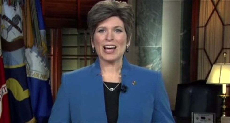 Memo to Joni Ernst: Most Americans want more than one pair of shoes