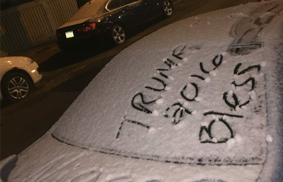 'Trump 2016,' swastika and N-word written on car in second incident at Temple University