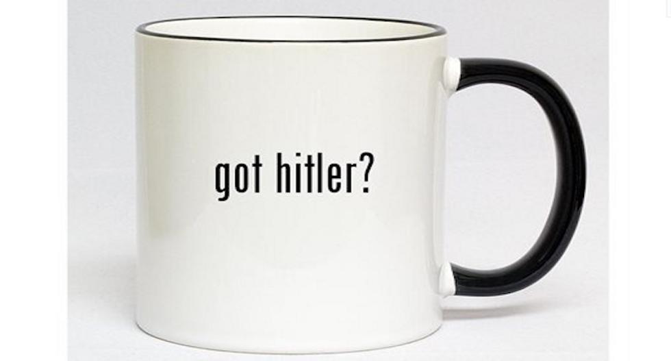 Walmart's online store pulls 'Got Hitler?' and 'Got R*tard?' mugs after facing backlash