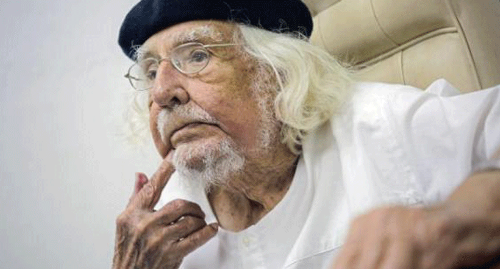 Nicaraguan poet and priest Ernesto Cardenal laments betrayal of Sandinista revolution