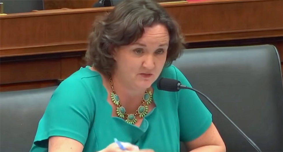 Watch Katie Porter corner bank CEO during congressional hearing: 'Taxpayers are subsidizing Wells Fargo'