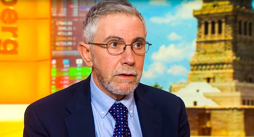 'Don't fall for it!' Paul Krugman shames media for covering anti-lockdown protests as the voice of 'real America'