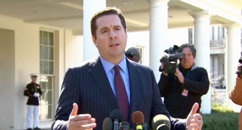REVEALED: Devin Nunes' GOP intel members leaked text messages meant to discredit Russia probe