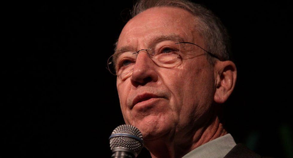 GOP Sen. Chuck Grassley rails against 'no history' History Channel