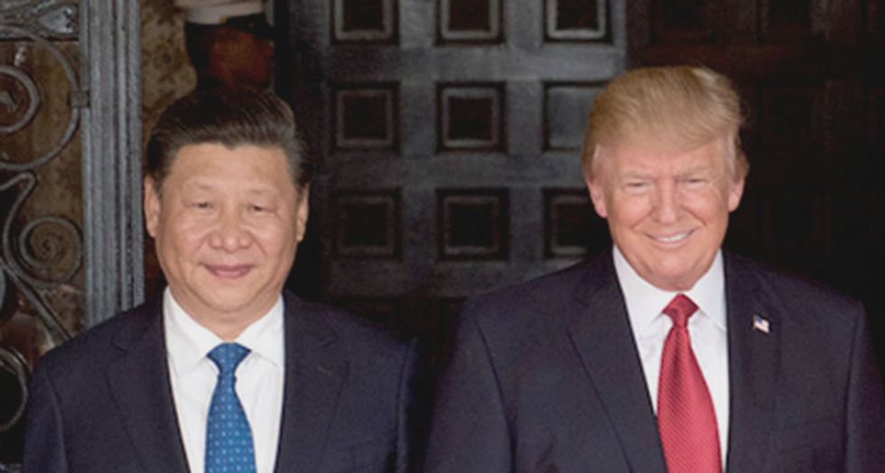 Internet explodes in rage after 'insane' Trump uses racist accent to imitate China's president