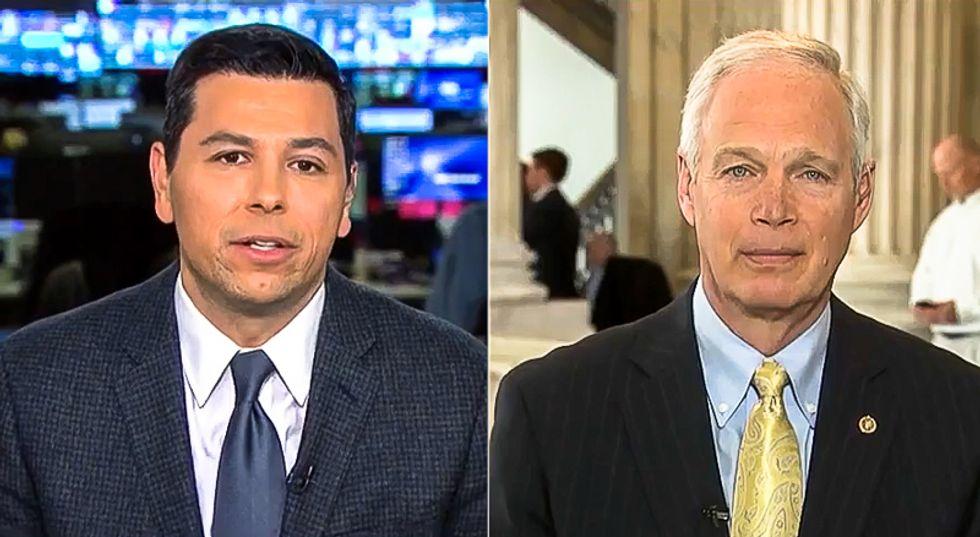 MSNBC confronts 'joke' Ron Johnson for 'political hit job' on Bidens instead of fighting coronavirus