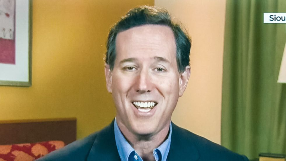 Rick Santorum: Bruce Jenner can call himself a woman -- but 'obviously and biologically' he's not