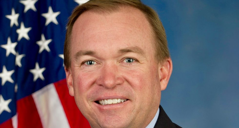 Trump's White House budget chief pick gains key Senate backer