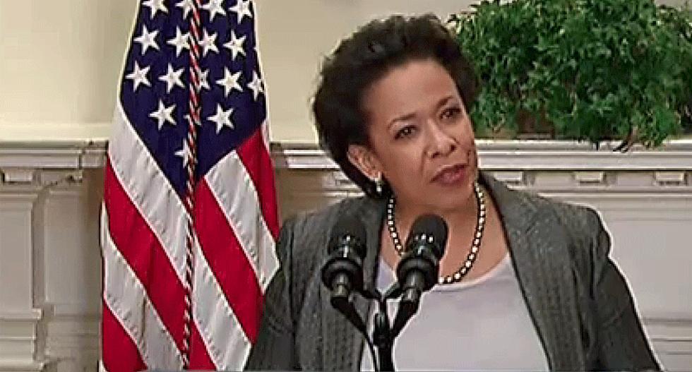 LISTEN: Obama AG Loretta Lynch swipes at Trump's bogus claim that 'attorney-client privilege is dead'