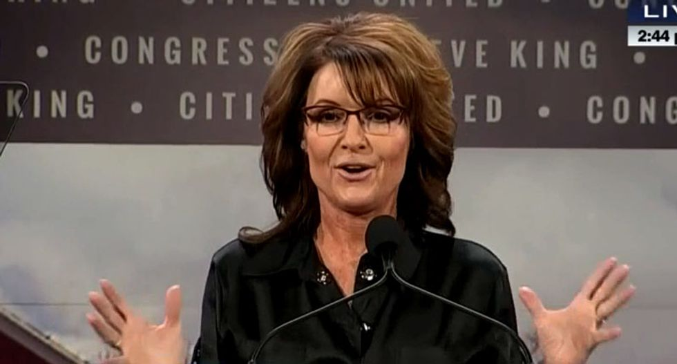 What does Sarah Palin's incoherent Iowa catastrophe say about the conservative movement?
