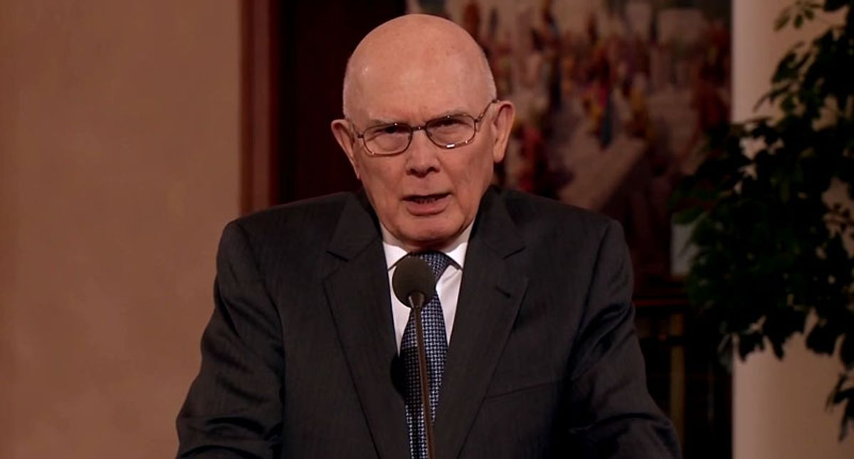 Mormon leader shames church members who attacked Capitol on Jan. 6 in Easter message