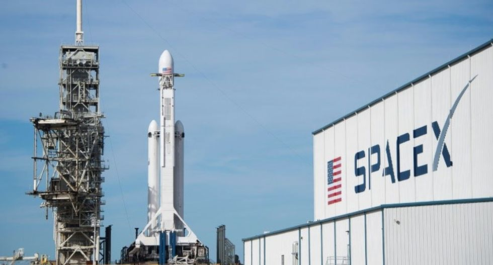 WATCH LIVE: SpaceX counts down to first ever launch of Falcon Heavy rocket