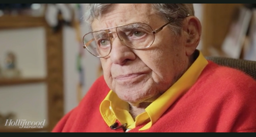 WATCH: Comedian Jerry Lewis gives the most obstinate, uncooperative interview we've ever seen