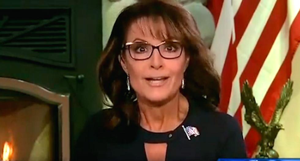 Sarah Palin complains that 'quasi-right' Fox News thinks she's a joke: 'This is war'