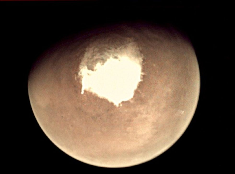 Glaciers could have sculpted Mars valleys: study