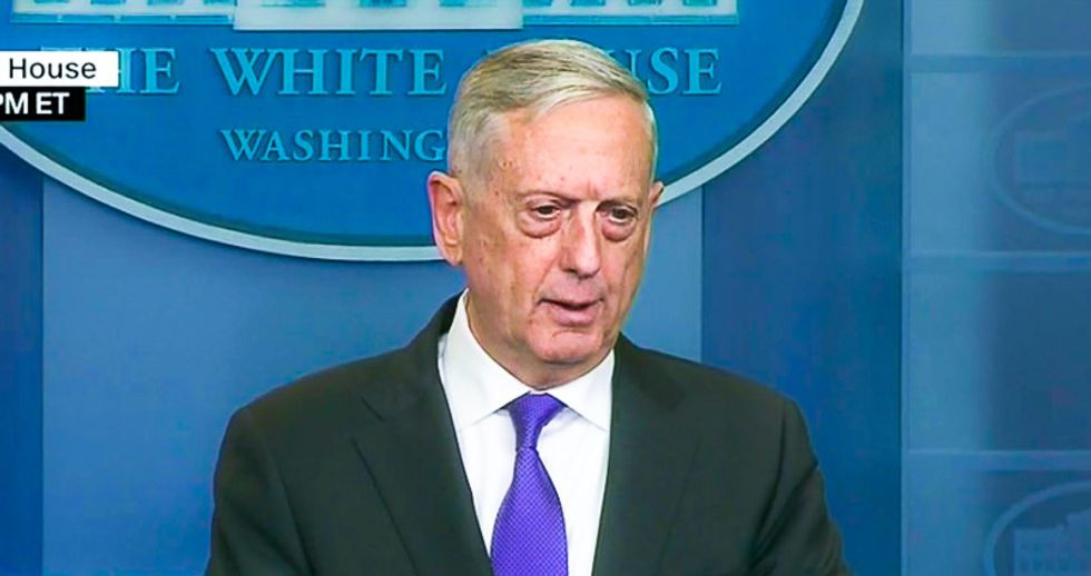 Pentagon makes recommendations to White House on transgender individuals