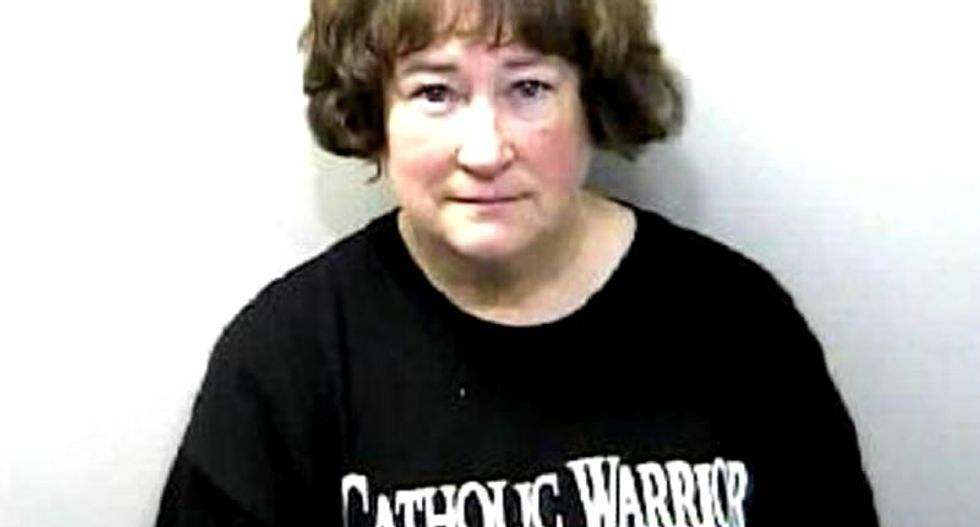 Charges dropped against 'Catholic Warrior' caught on video destroying Satanic holiday display