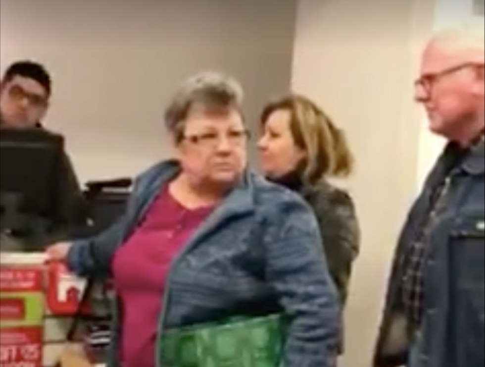 'Go back wherever the f*ck you come from': Racist Kentucky woman goes on tirade at Hispanic shoppers