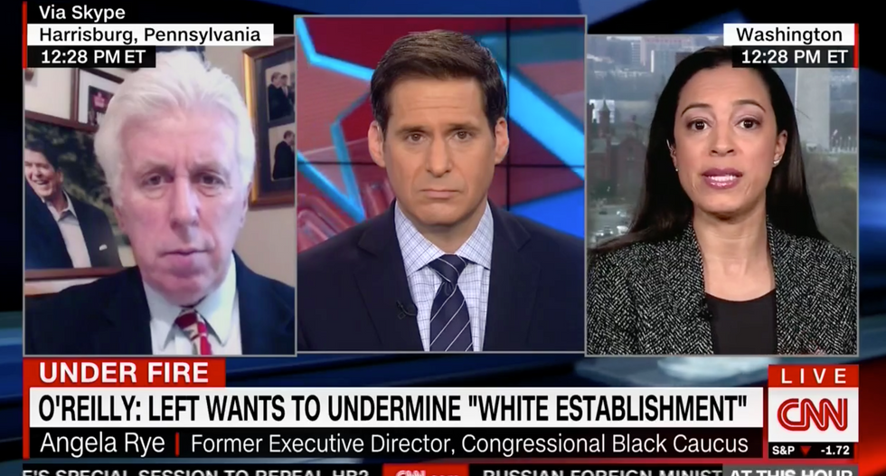 Angela Rye schools Trump supporter on Electoral College: It was built to 'oppress certain people'