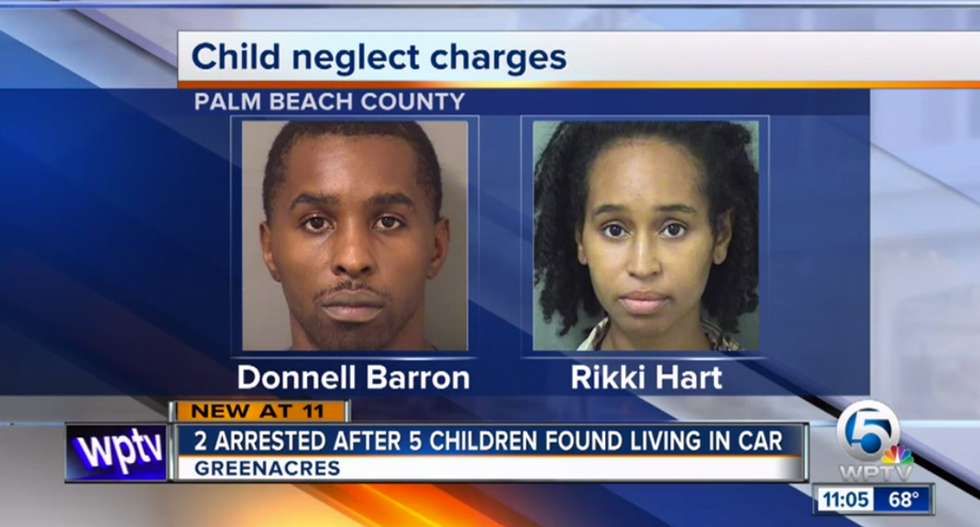 Five malnourished children found living in a car in a Florida Walmart parking lot: police