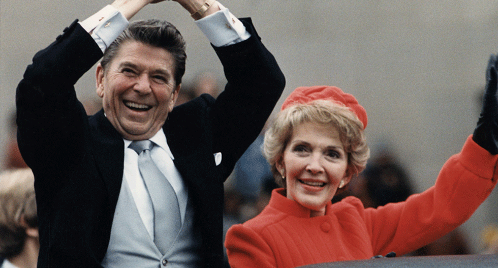 REVEALED: Reagan White House constantly brushed off Trump and his 'large ego'