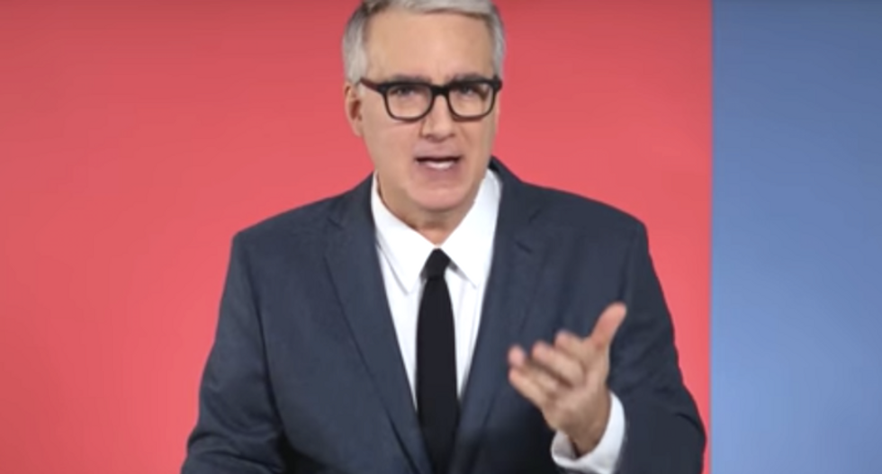 Keith Olbermann: While Trump creates chaos, 'banana Republicans' will steal your Social Security