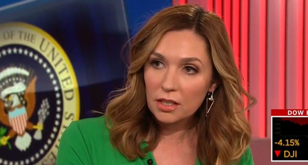 CNN conservative snaps at panelists to stop bringing up Trump when they talk about bad behavior