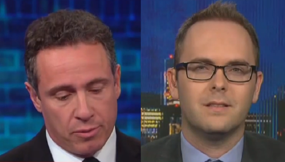 'He made it up': CNN's Chris Cuomo fact-checks Trump's lies about shutting down the border