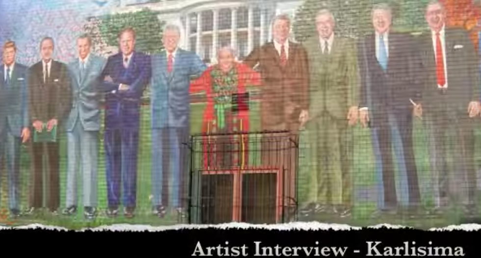 DC restaurant with mural featuring the last ten presidents will not add Donald Trump to its painting