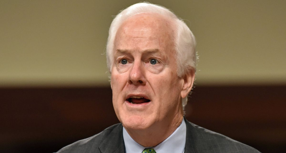 GOPer Cornyn faceplants spectacularly with 'idiotic' attack on Biden as the new FDR