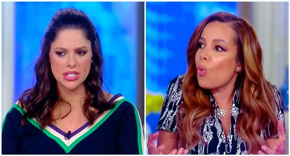 The View's Abby Huntsman tries to let Trump off the hook for Mar-A-Lago security breach — and gets promptly schooled
