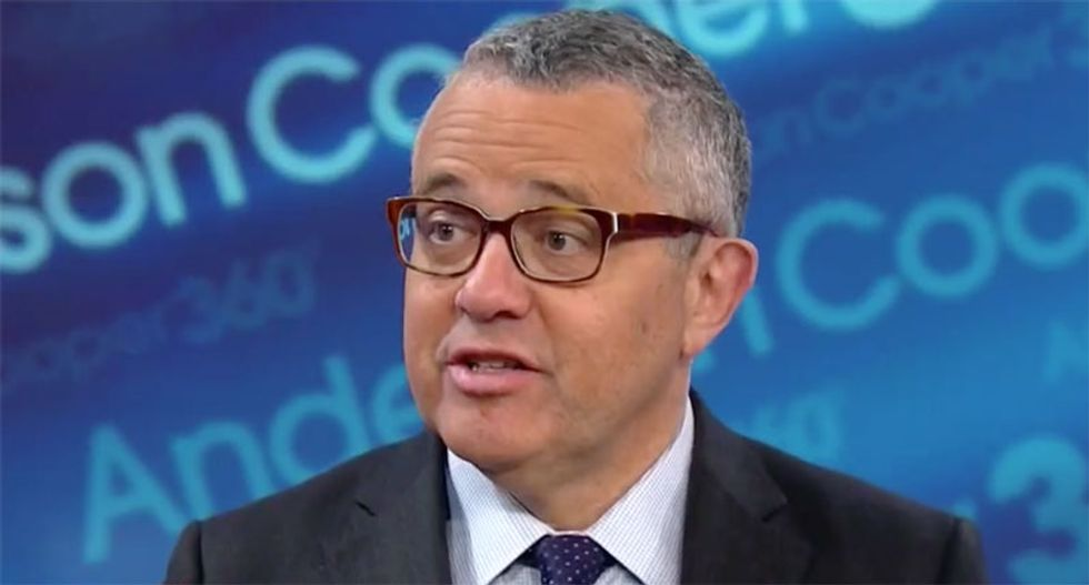 'They're going down with the ship': CNN's Toobin explains why the GOP is stuck with Trump until the bitter end