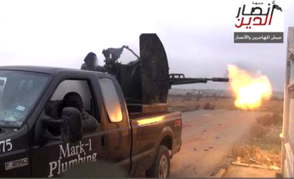 Texas plumber has 'no idea' how ISIS militants ended up with his old truck