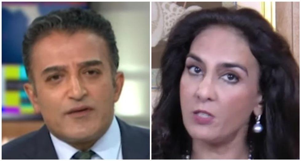 WATCH: British TV host shuts down GOP official over Trump's coronavirus misinformation