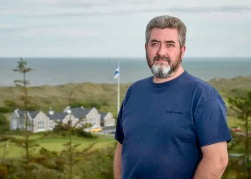 Locals teed off about new Trump golf course in Scotland