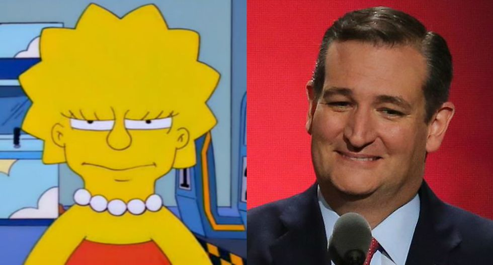Ted Cruz hilariously trashed for his bizarre attempt to hijack 'The Simpsons' at CPAC