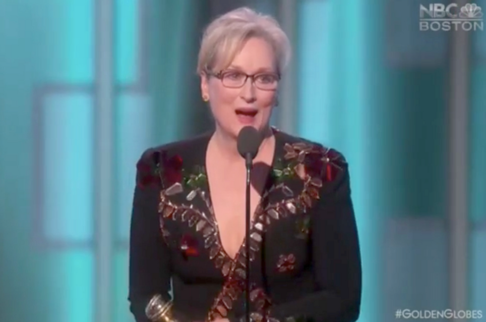 Meryl Streep obliterated Donald Trump at the Golden Globes and never once mentioned his name