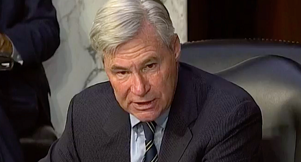Sheldon Whitehouse scorches Lindsey Graham for risking new COVID-19 outbreak to fire 'judicial torpedo' at Obamacare