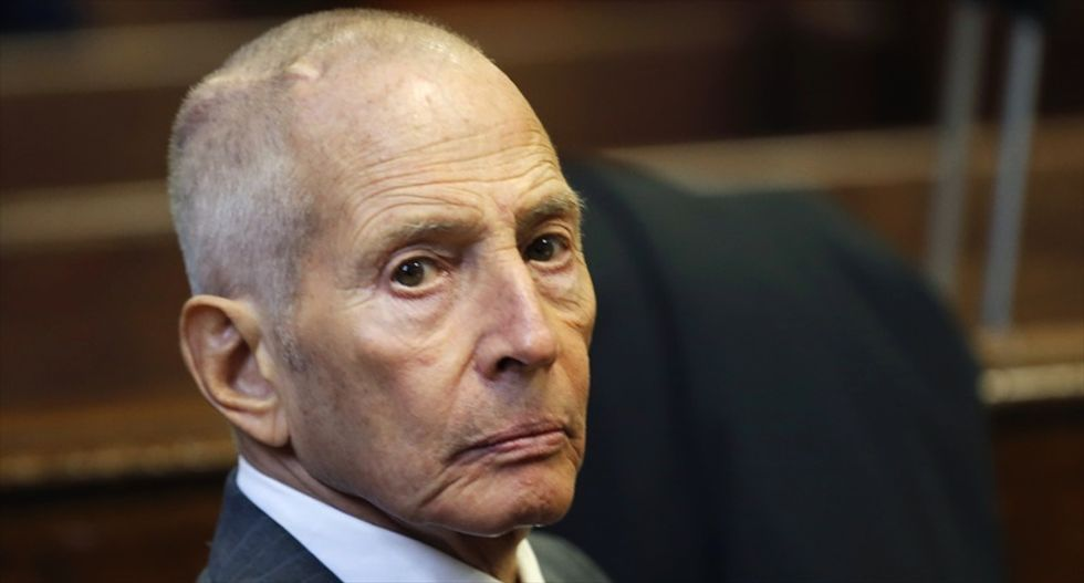 Real estate heir Robert Durst charged with murder after saying he was 'caught' on HBO show