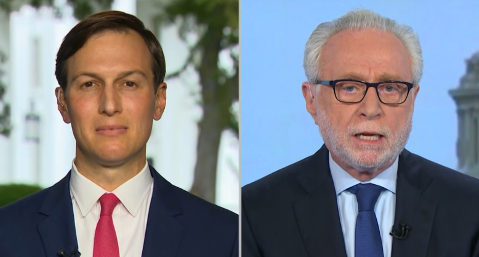 WATCH: Wolf Blitzer confronts Kushner about Trump retweeting 'disgusting' Biden conspiracy theory