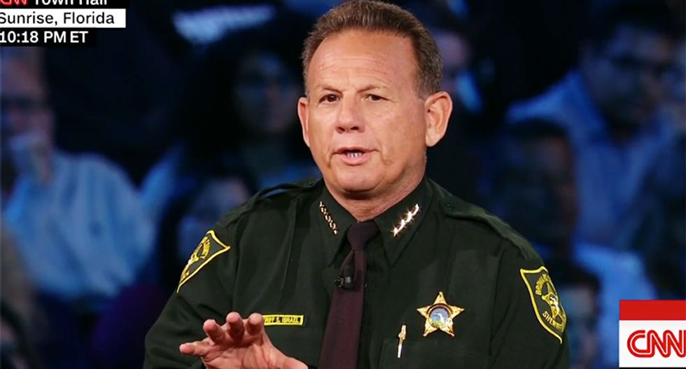 Broward County Sheriff suspends deputy after footage shows he never went into the school during Parkland massacre