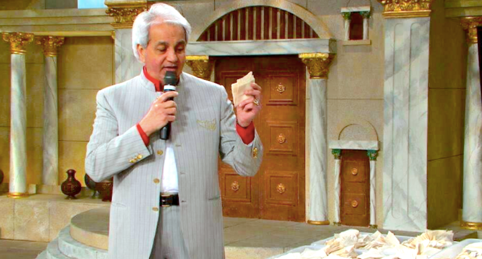 Televangelist Benny Hinn admits he was wrong about the prosperity gospel: 'Did Jesus live in a mansion?'