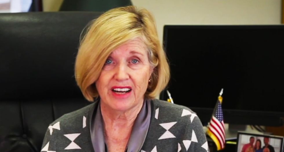 WATCH: South Carolina education chief promises parents  school shootings can be avoided by 'sharing Christ's love'