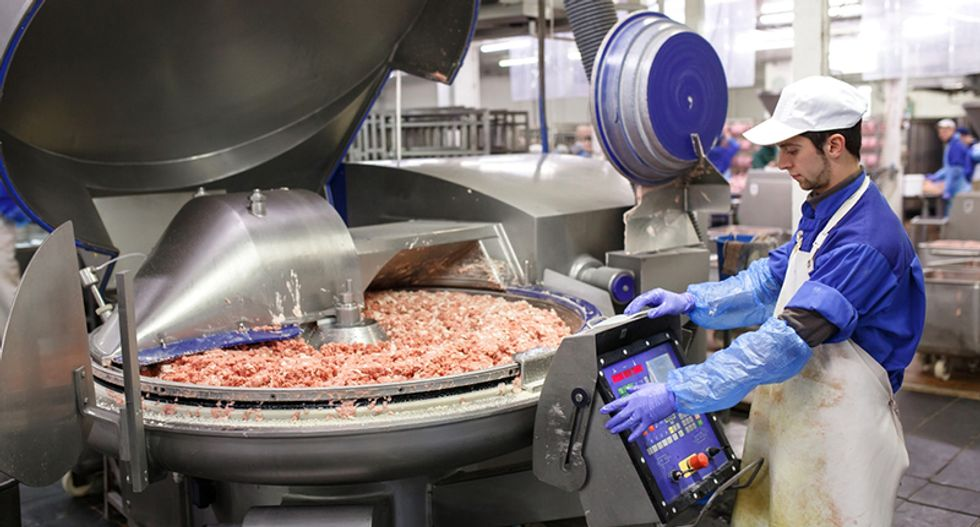 It's 2019 and a worker just died in a meat grinder