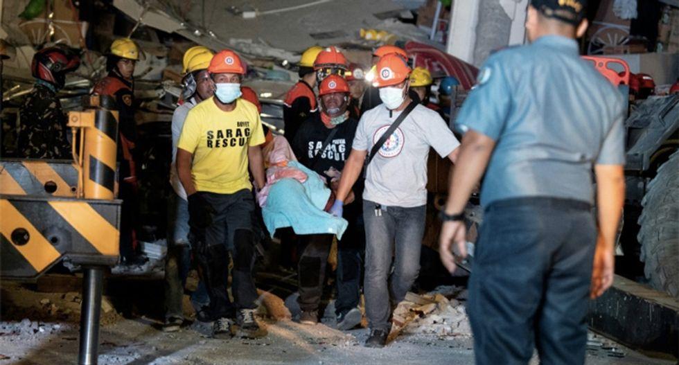 Frantic hunt for survivors after deadly 6.3 Philippine earthquake and over 400 aftershocks