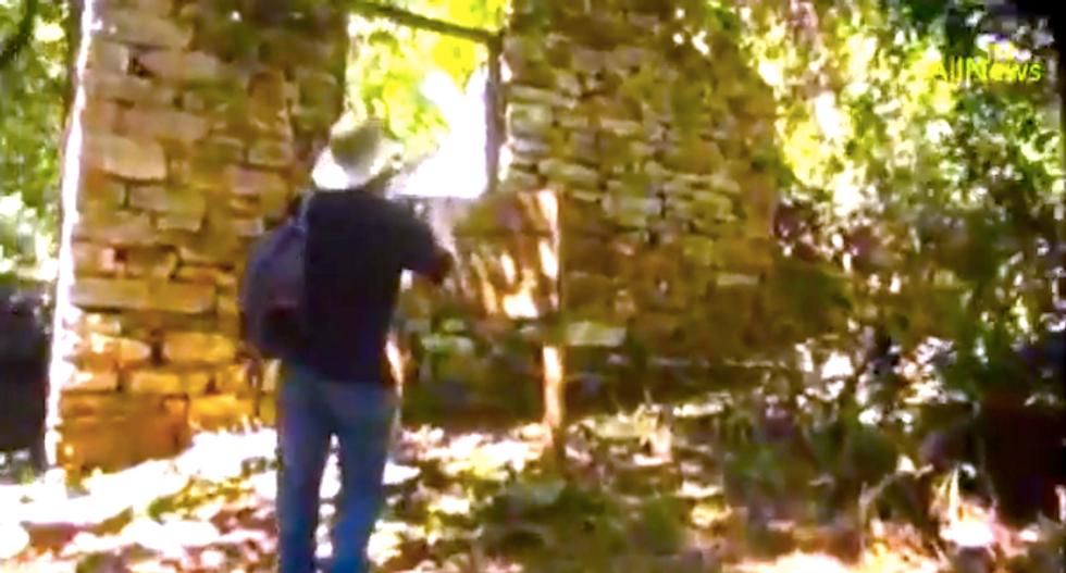 Watch: Archeologists discover secret Nazi hideout in deep Argentine jungle