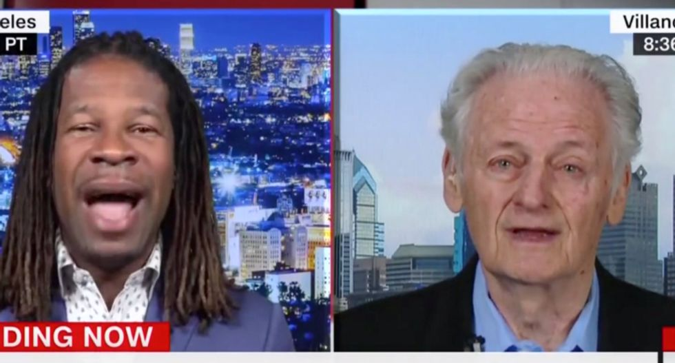 Former hockey exec gets schooled on CNN after whining white people 'can't do anything' without being called racist